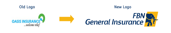Old logo and New logo FBN General
